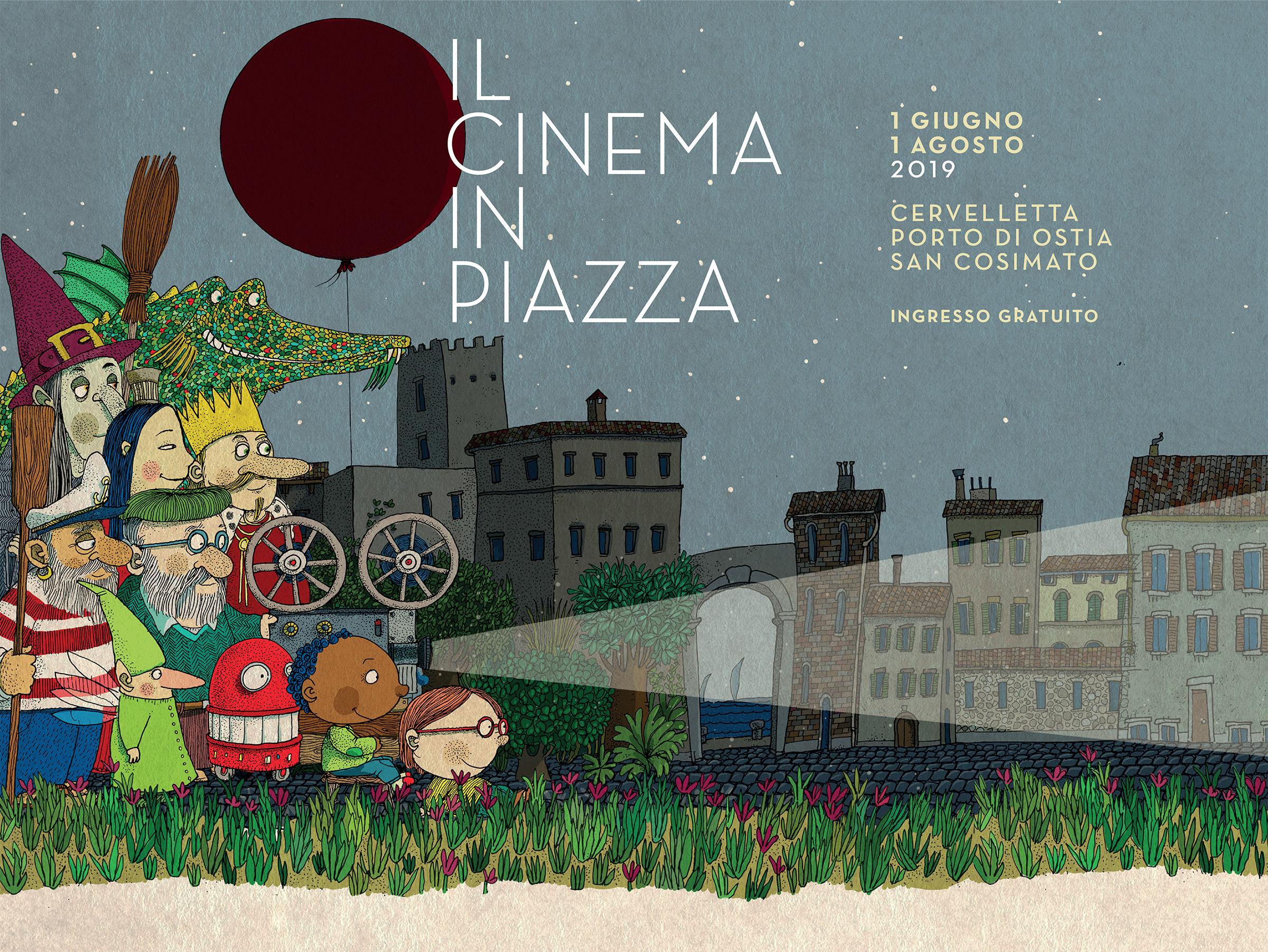 edd24990a5 Il Cinema in Piazza   Roma: arene di San Cosimato, Cervelletta e Ostia