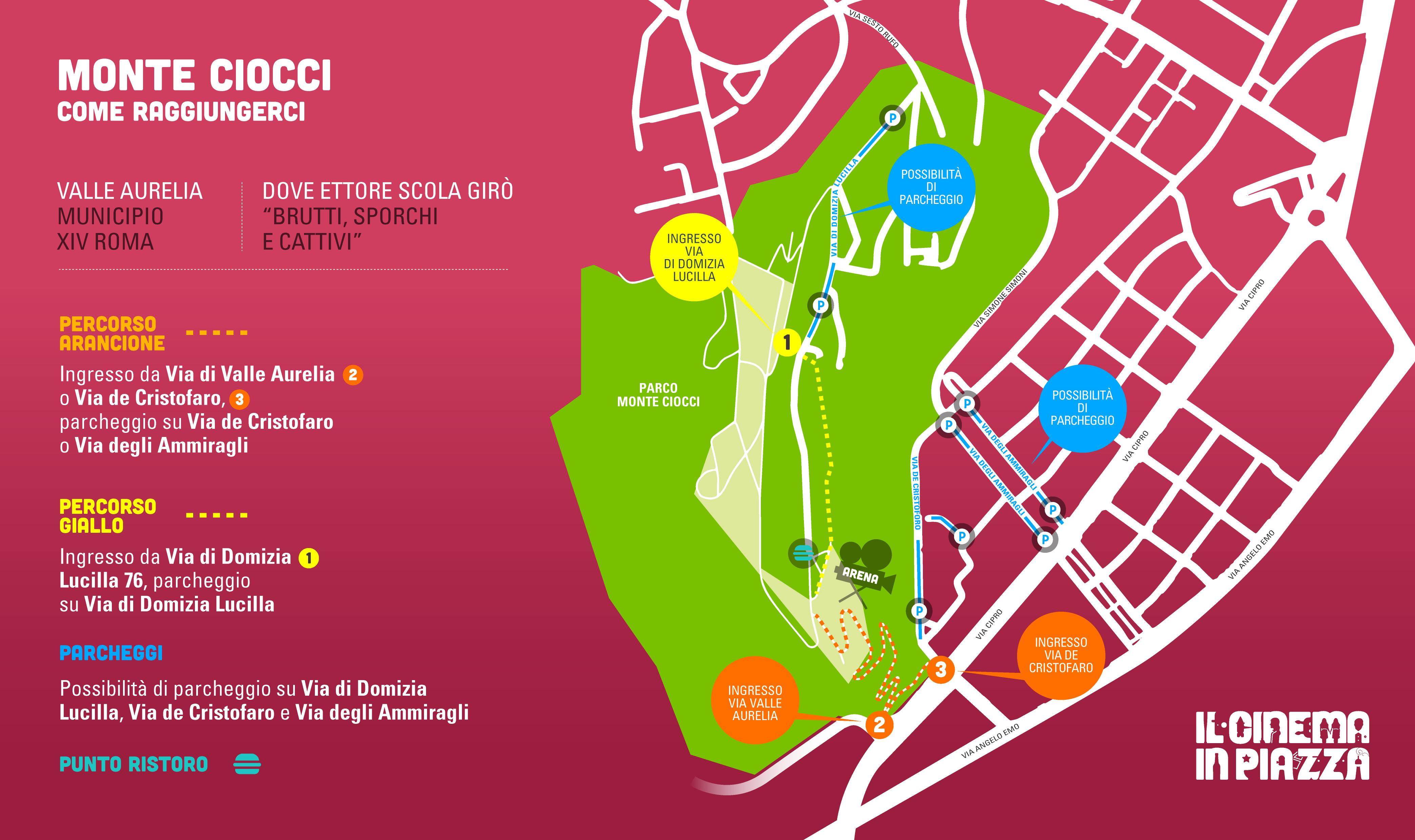 Mappa Monte Ciocci